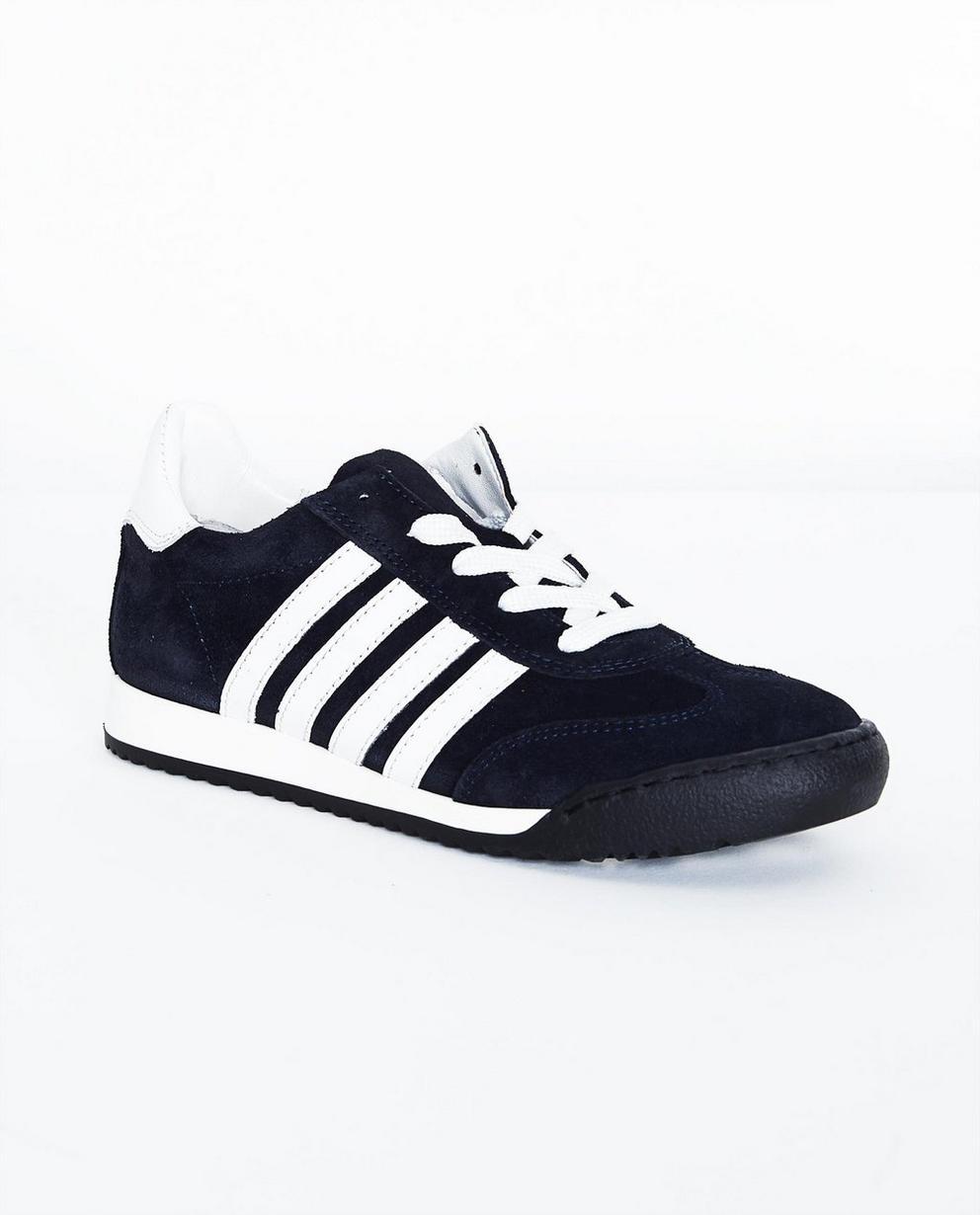 Nachtblaue Sneakers - aus Wildleder, Größe 33-38 - JBC